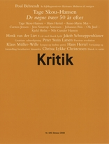Kritik, 41. årgang, nr. 189