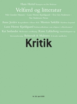 Kritik, 42. årgang, nr. 191