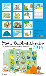 Strid Familiekalender 2014