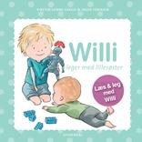 Willi leger med lillesøster