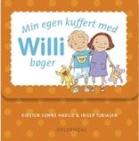 Min egen kuffert med Willi bøger