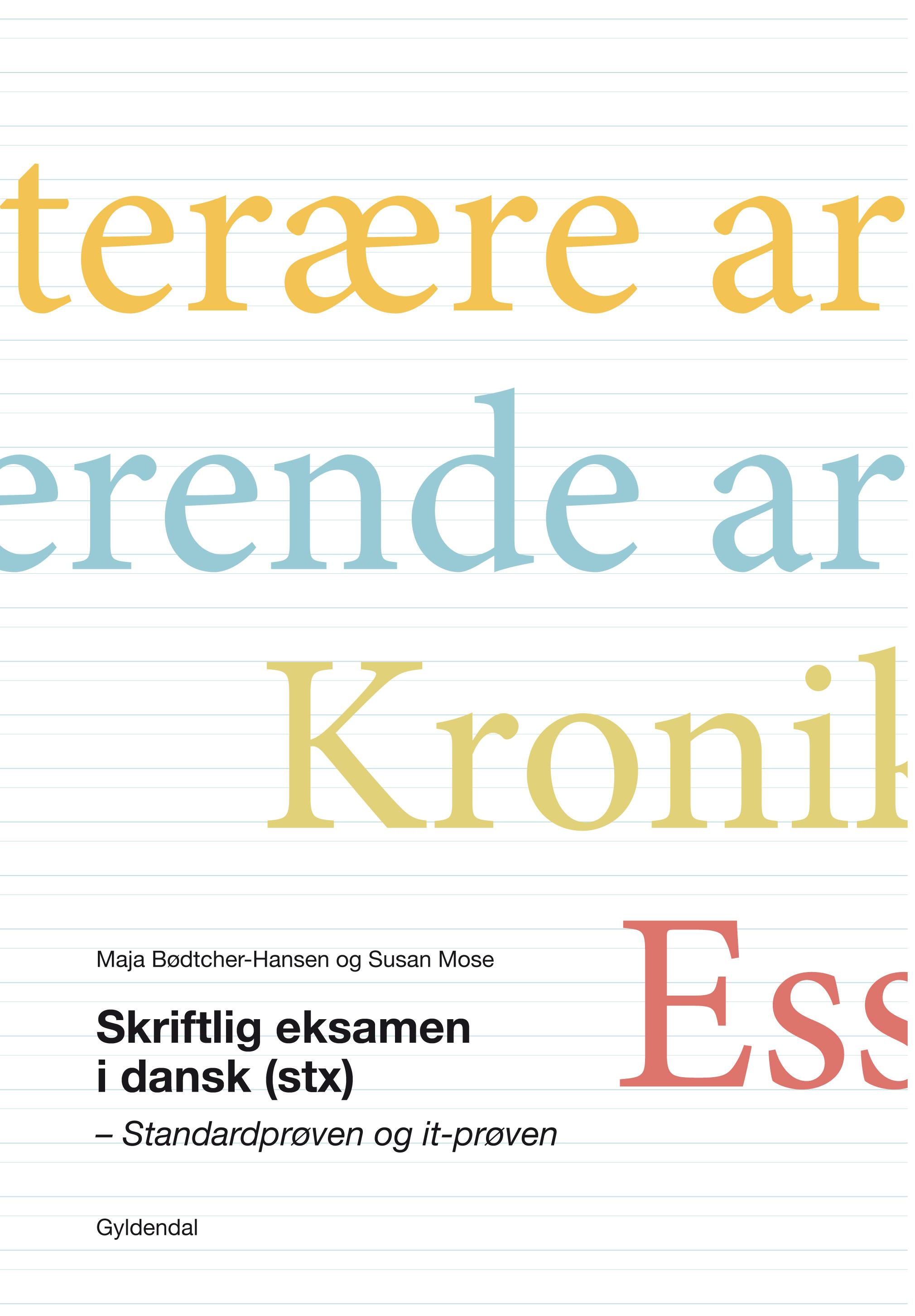 dansk skriftlig eksamen