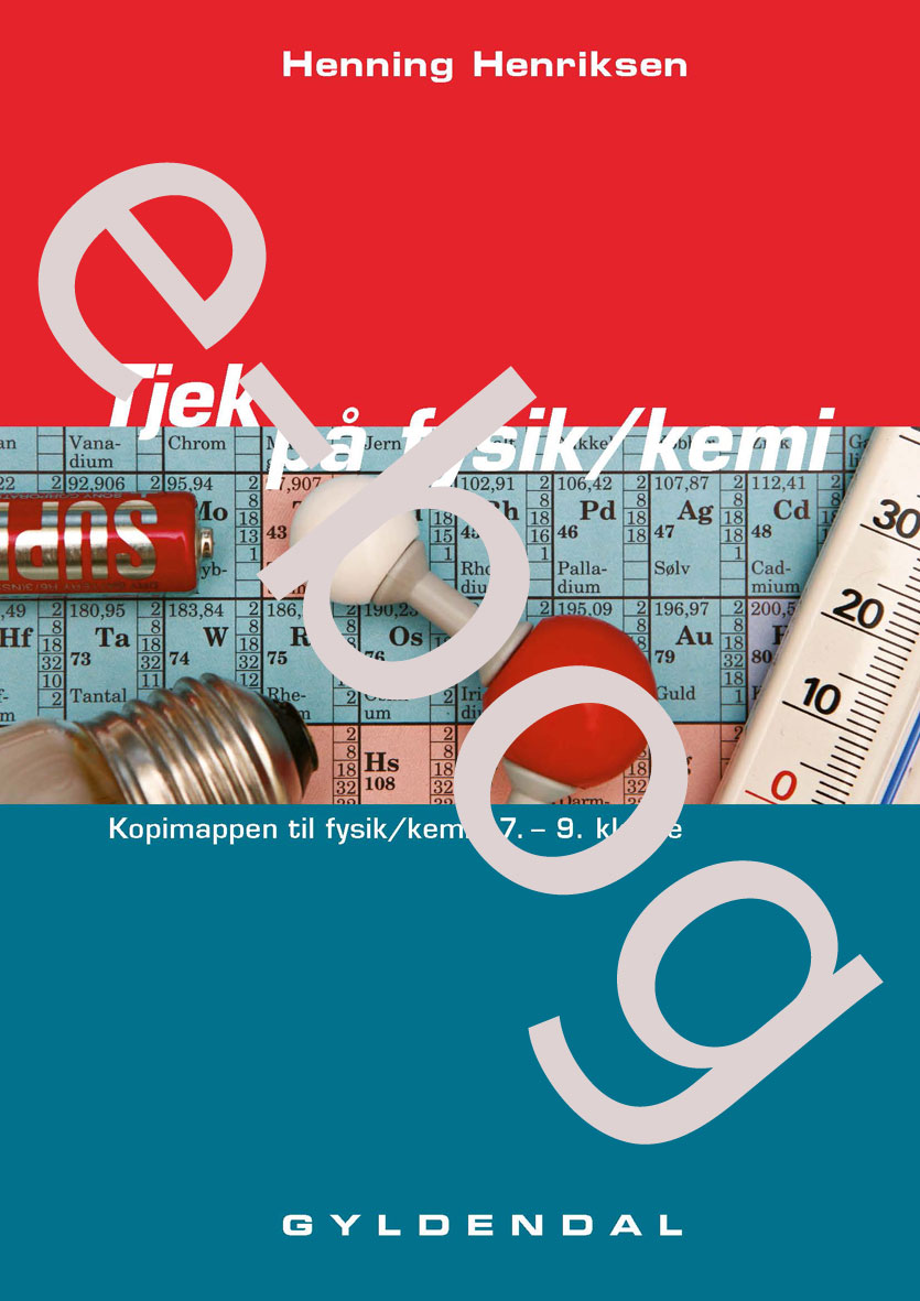 Tjek på fysik/kemi - e-bog af Henning Henriksen