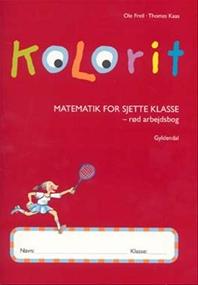 Kolorit 6. klasse, rød arbejdsbog