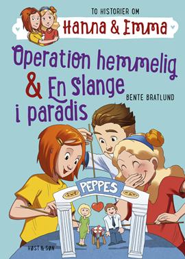 Hanna & Emma 2. Operation hemmelig/En slange i paradis