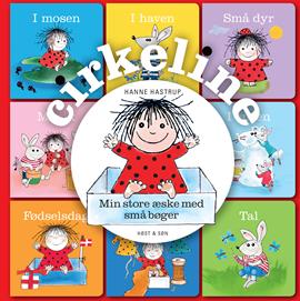Cirkeline - Min store æske med små bøger