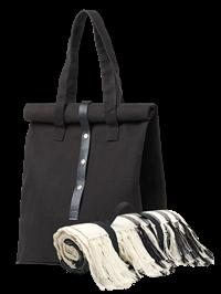 Picnicsæt m. taske og tæppe