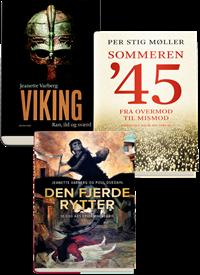 3 historie-bestsellere pakke
