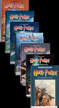 Harry Potter 1-7 pakke
