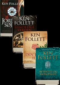 Ken Follett Kingsbridge pakke