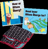 Alfons Åberg + Babytæppe pakke