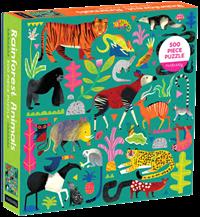 Puslespil, Rainforest animals