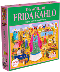 Puslespil, The world of Frida Kahlo