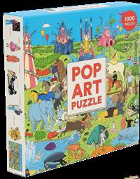 Puslespil, Pop art puzzle