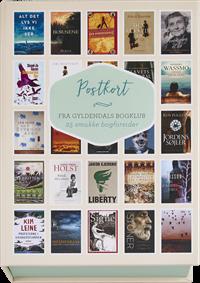 Postkort med bogforsider