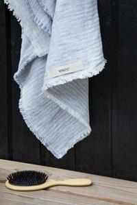 Håndklæde, blå