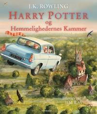Harry Potter Illustreret 2 - Harry Potter og Hemmelighedernes Kammer