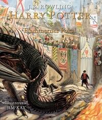 Harry Potter Illustreret 4 - Harry Potter og Flammernes Pokal