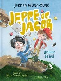 Jeppe og Jacob - Graver et hul