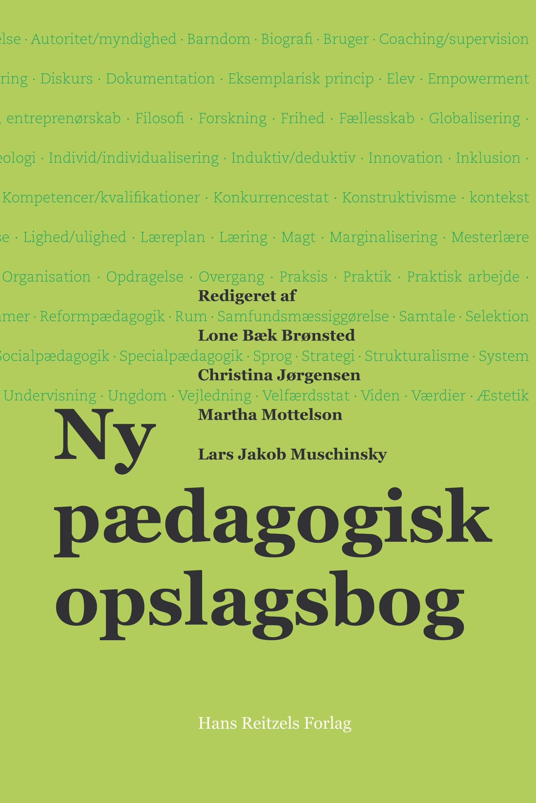 Ny pædagogisk opslagsbog