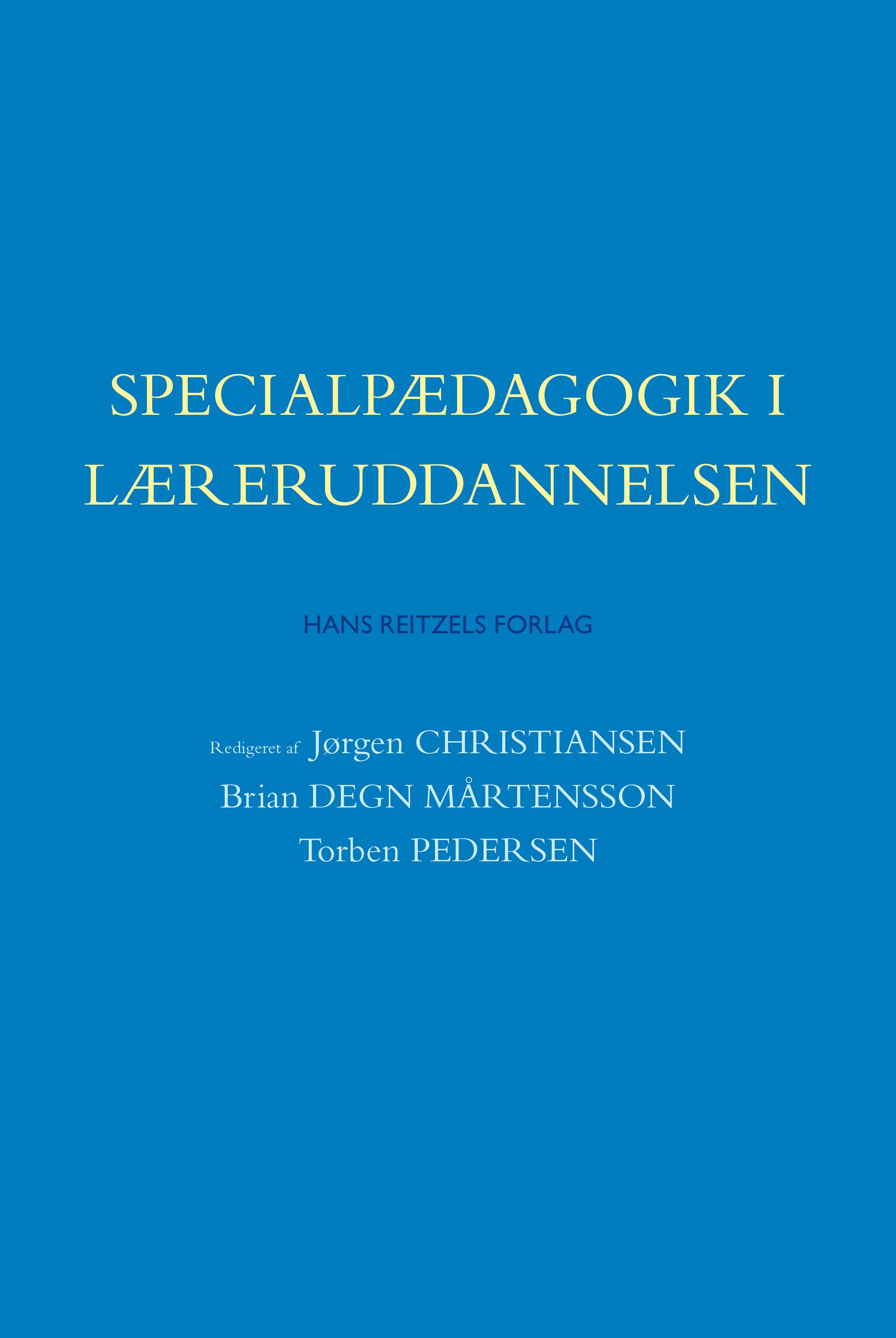 Specialpædagogik i læreruddannelsen