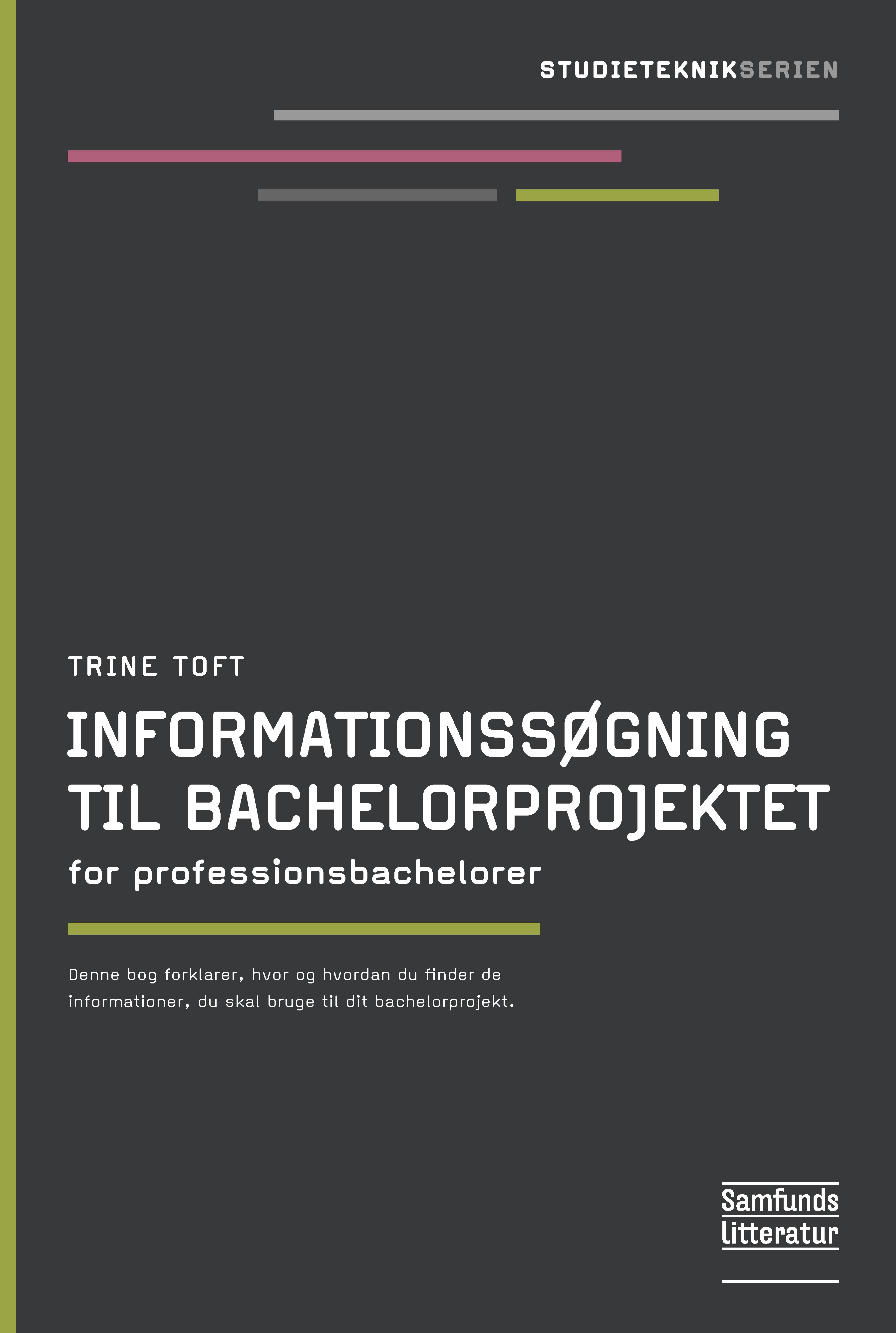Informationssøgning til bachelorprojektet